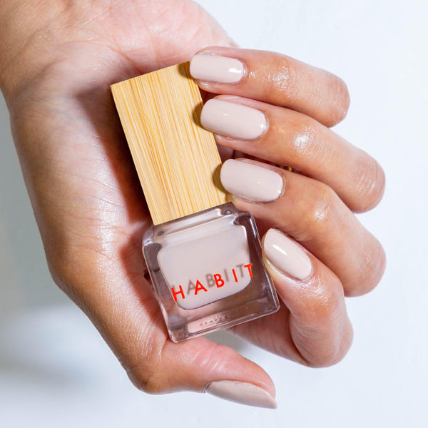 Habit Cosmetics Skincare Ingredient Infused Non-Toxic + Vegan Nail Polish in 23 Ingenue