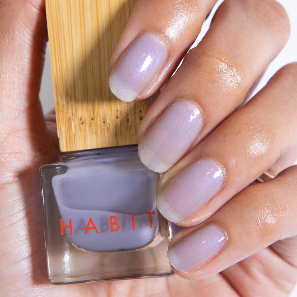 Habit Cosmetics Skincare Ingredient Infused Non-Toxic + Vegan Nail Polish in 38 Vapor