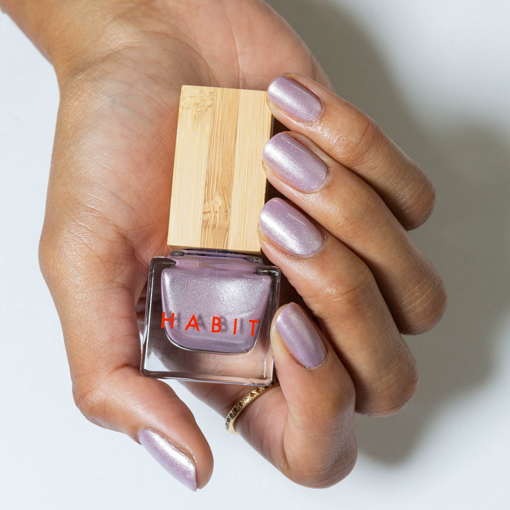 Habit Cosmetics Skincare Ingredient Infused Non-Toxic + Vegan Nail Polish in 60 Digital Dream