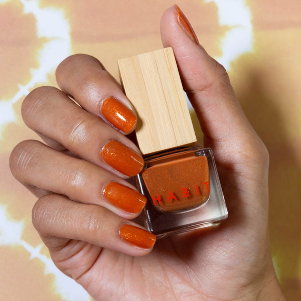 Habit Cosmetics Skincare Ingredient Infused Non-Toxic + Vegan Nail Polish in 64 Golden Hour