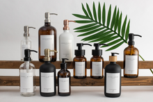 Load image into Gallery viewer, Glass Bottle | Soaps + Lotions | Signature Collection