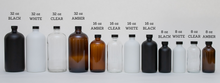 Load image into Gallery viewer, Glass Bottle | Soaps + Lotions | Mistletoe Collection