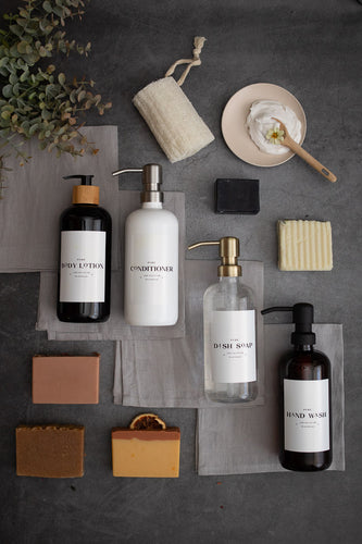 Plastic Bottle | Soaps + Lotions | Luxe Collection