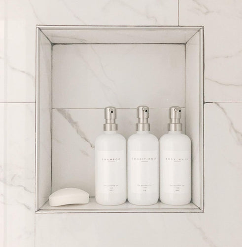::Bundle Package:: In the Shower | Includes Shampoo, Conditioner + Body Wash Plastic Bottles in Signature Collection