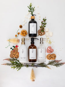 Glass Bottle | Soaps + Lotions | Mistletoe Collection