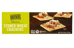 BMP STONE WHEAT CRACKERS