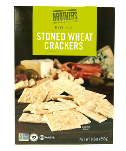 BMP STONE WHEAT BITE SIZE CRACKERS