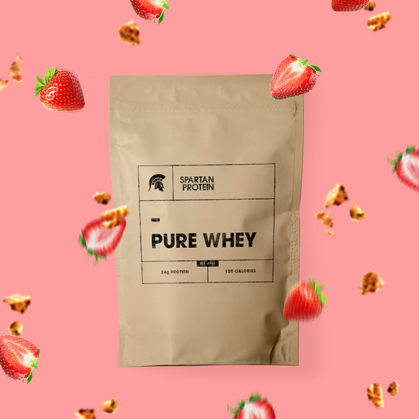 Real Fruit Pure Whey - Strawberry Cheesecake