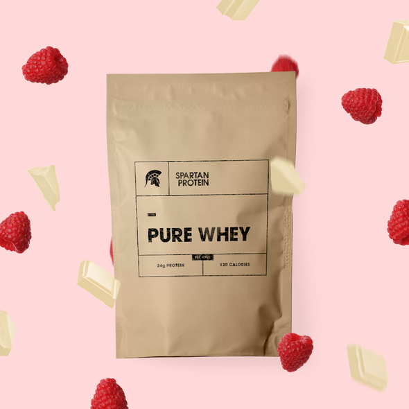 Real Fruit Pure Whey - White Chocolate & Raspberry