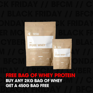 FREE BAG OF WHEY