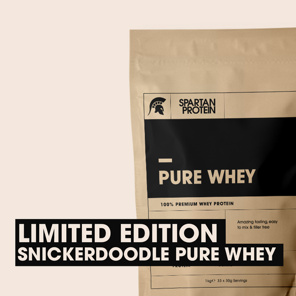 Limited Edition Pure Whey: Snickerdoodle