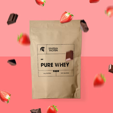 Limited Edition: Real Fruit Whey - Dark Chocolate & Strawberry
