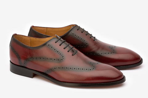 Whole Cut  Brogue Oxford