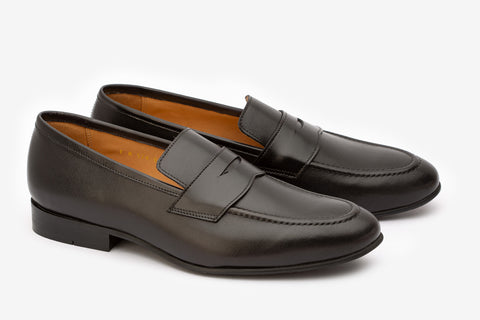Penny Loafer With Cord Stitching On the Vamp