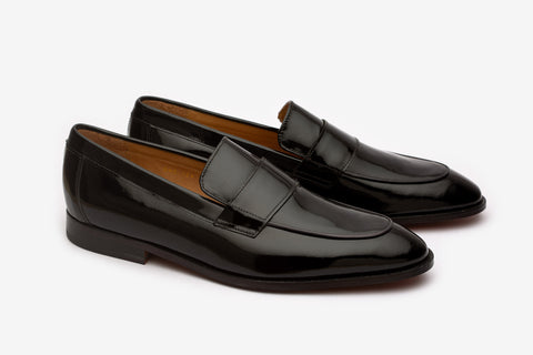 Apron Loafer With Saddle-PB