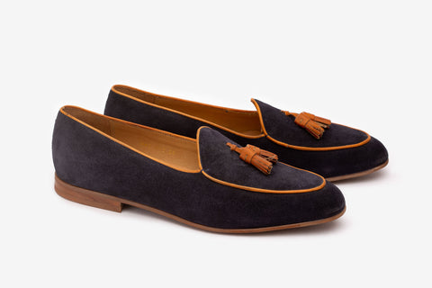 Belgian Loafer With Tassel