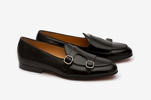 Double Monk Loafer- B BL
