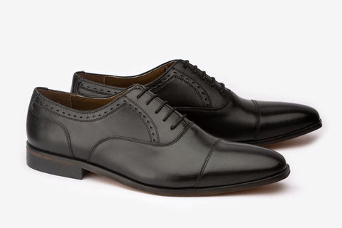 Toe Cap Half Brogue Oxford