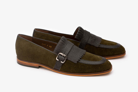 Mixed Texture Loafer-O