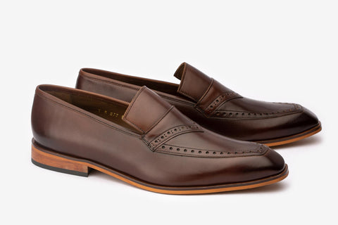 Semi Brogue Loafer