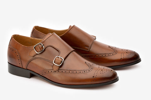 Wingcap Brogue Double Monk