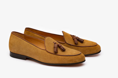 Belgium loafer With Tassel- C