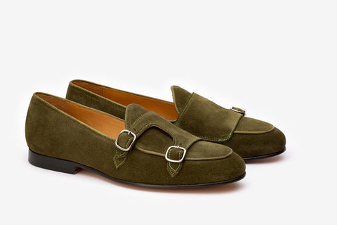 Double Monk Loafer- O