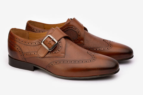 Wingcap Brogue  With Single Monk -MBR