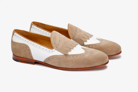 BROGUE WINGCAP KELTY LOAFERS-W