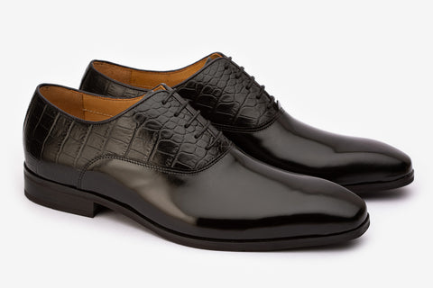 Plain Vamp Oxford & Twin Texture- B
