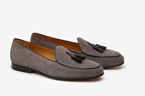 Belgium loafer With Tassel- LG