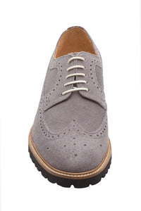 Longwing Derby – Light Grey