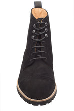 Load image into Gallery viewer, Light Weight Boots – Black Suede