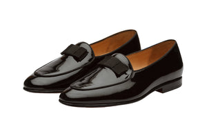 Belgian Loafers– Patent  Black