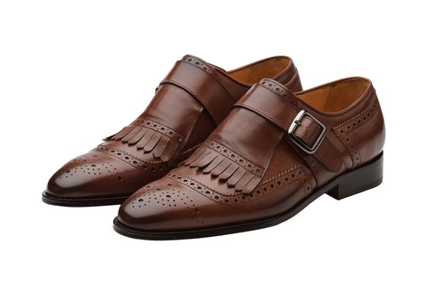 BROGUE KELTY MONK LOAFER -CB