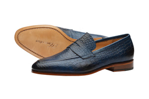 PENNY LOAFER WITH CORD STITCH-CB
