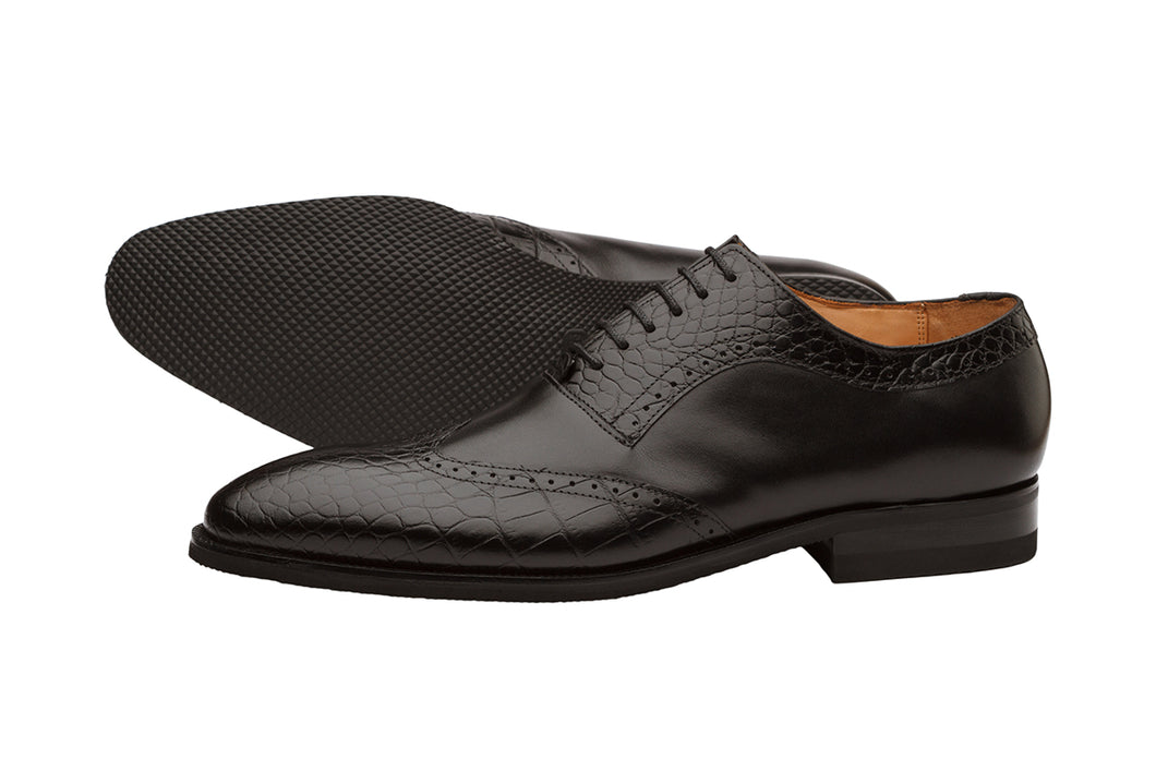Wingcap Combo Oxford - Black