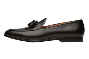 LOW HEEL BELGIAN LOAFER-B