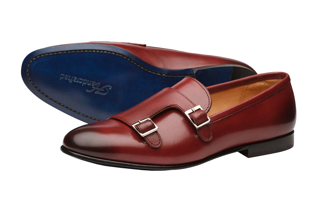 LOW HEEL DOUBLE MONK LOAFER – OX