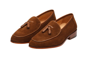 TASSEL LOAFER WITH APRON-CS