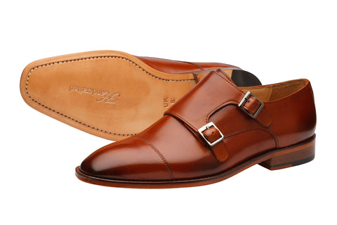 PLAIN TOECAP DOUBLE STRAP MONK-RT