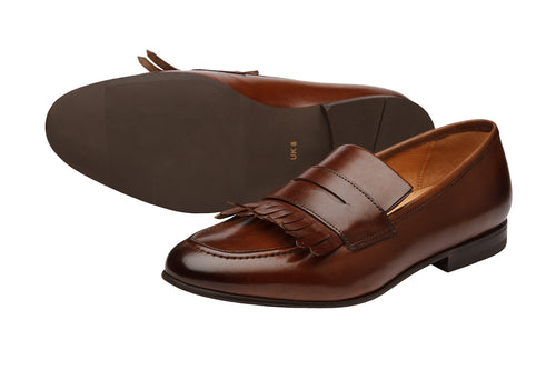 LOW HEEL KELTY LOAFER-CBR