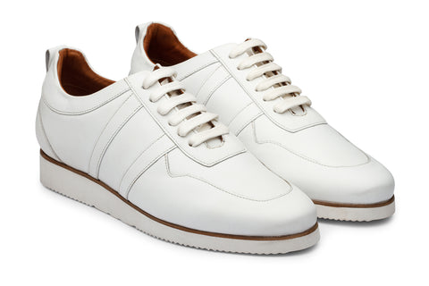 Milky White combo Casual Sneaker-W