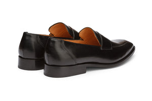 Split Toe Apron Loafer with Saddle & Back Counter-B