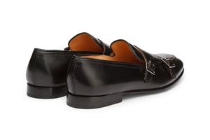 Double Strap Loafer Monk-B