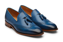 Load image into Gallery viewer, Tassel Loafer with Perforations -CB