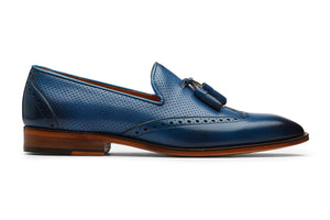 Tassel Loafer with Perforations -CB