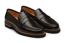Load image into Gallery viewer, Lopez Leather Penny Loafers -B