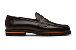 Lopez Leather Penny Loafers -B