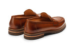 Lopez Leather Penny Loafers -T